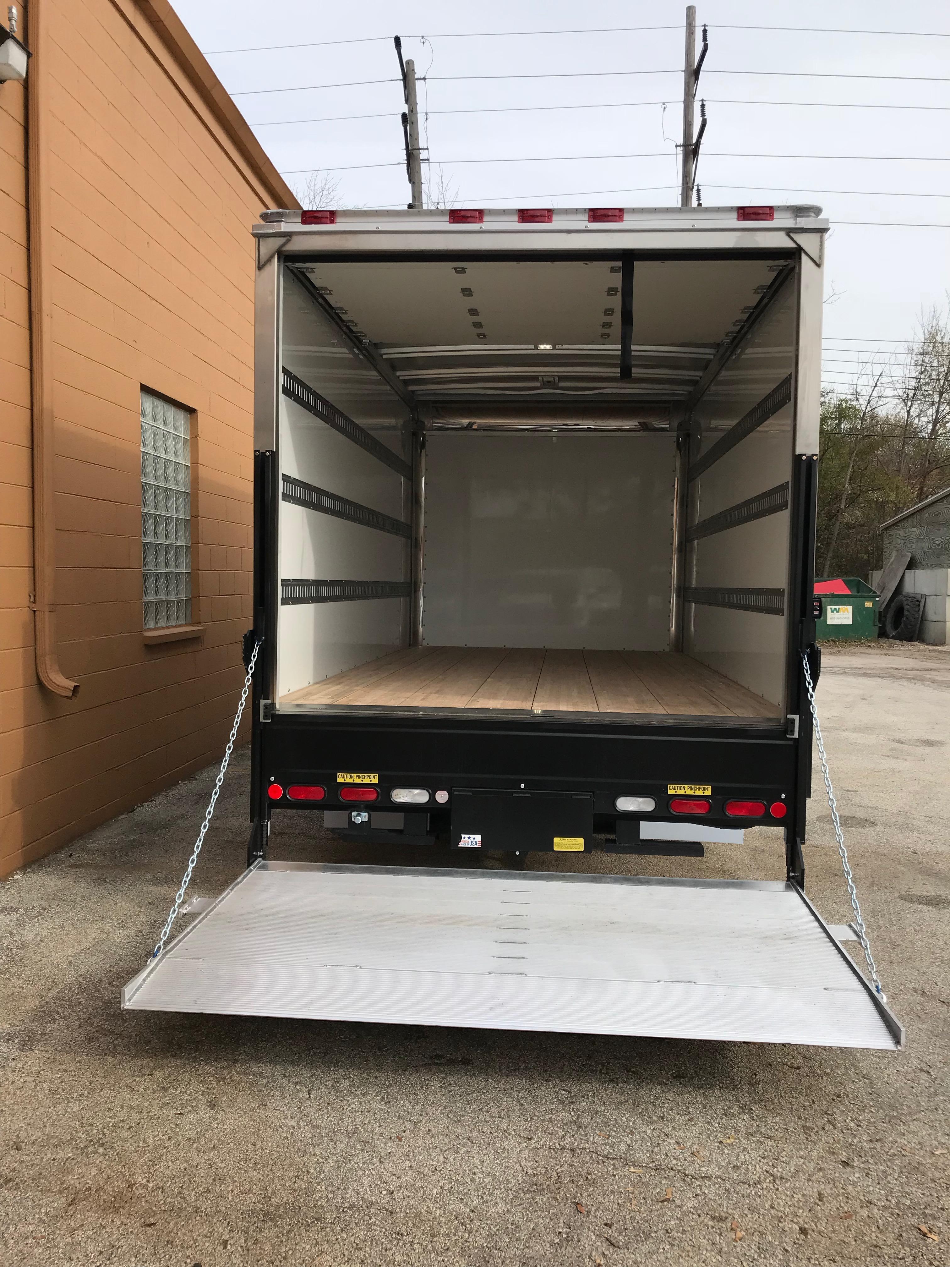 Sprinter Box Truck rear