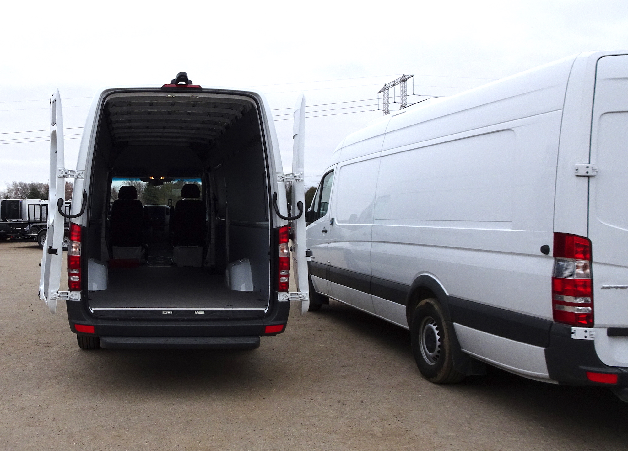 Sprinter Van 2500 fully folded doors