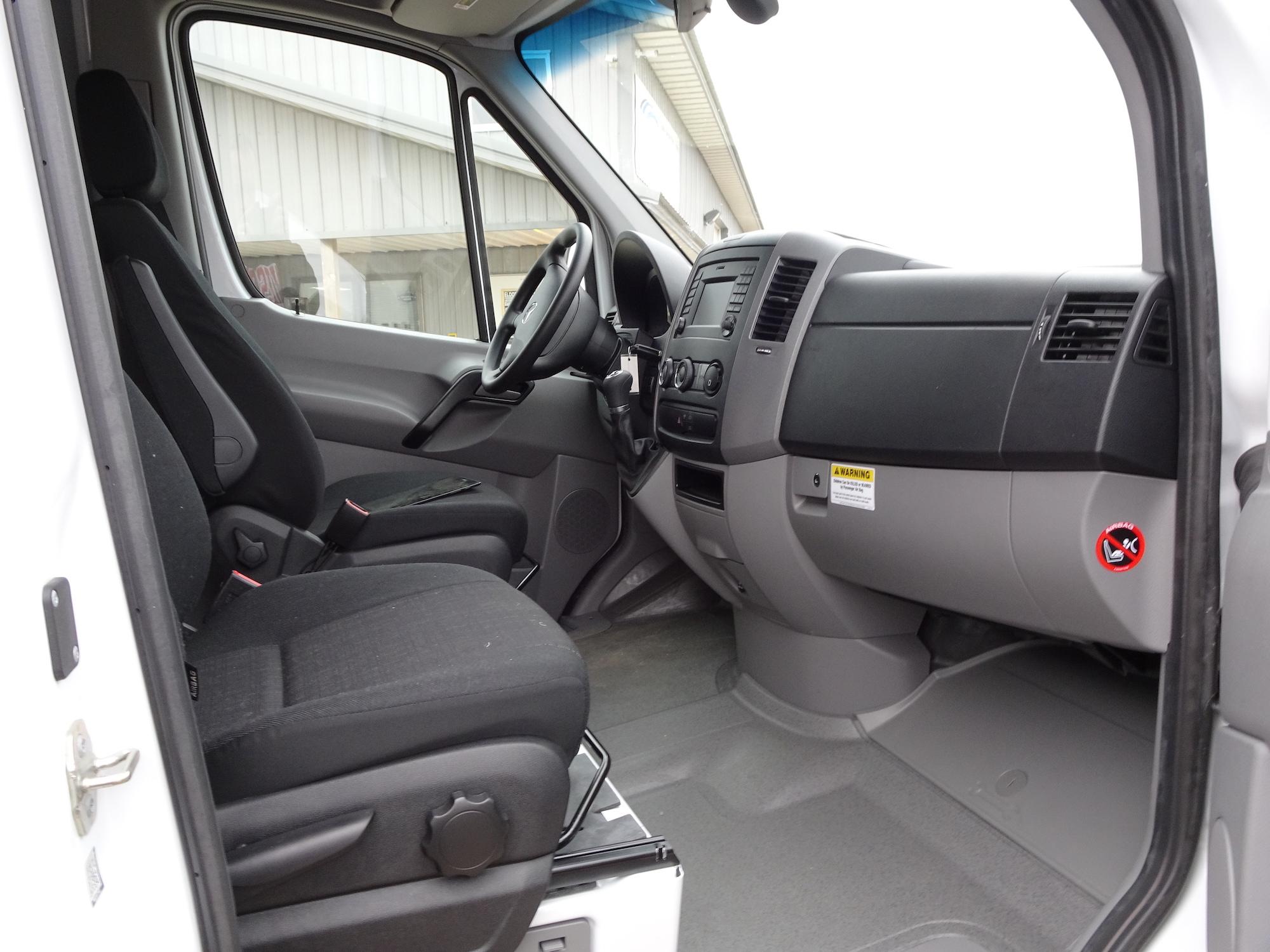 Sprinter Van 2500 passenger seat
