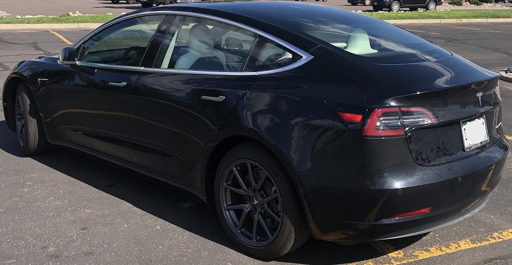 Tesla model 3 tow vehicle