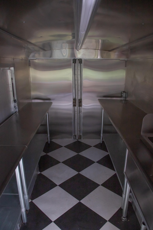 Food Truck Rental interior