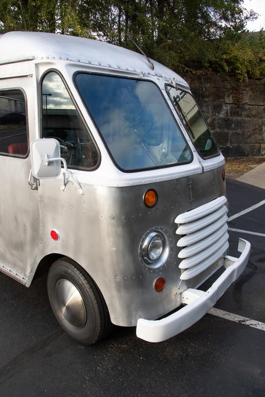 Food Truck Rental front windows