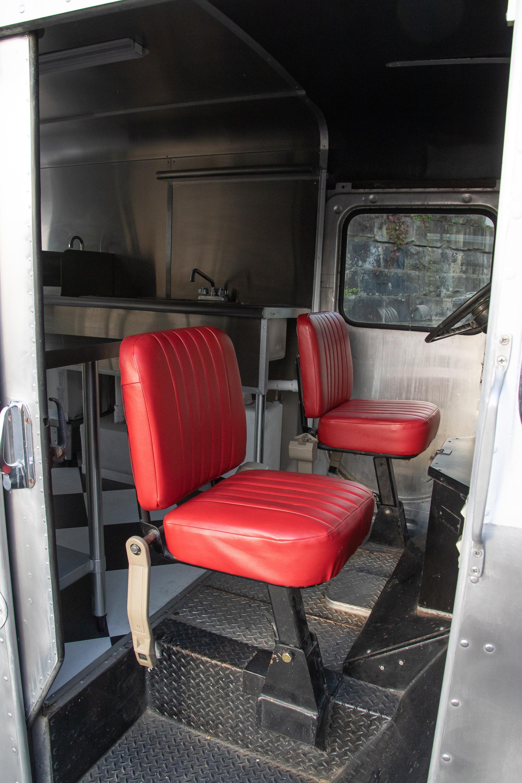 Food Truck Rental passenger seat