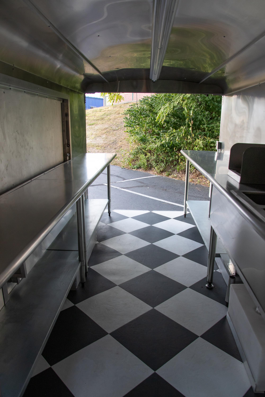 Food Truck Rental prep area 2