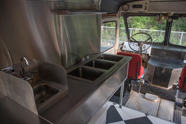 Food Truck Rental 3 basin sink