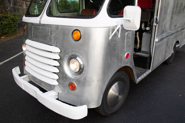 Food Truck Rental driver's door