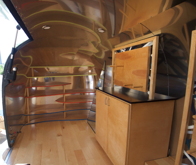 Airstream gullwing interior 31