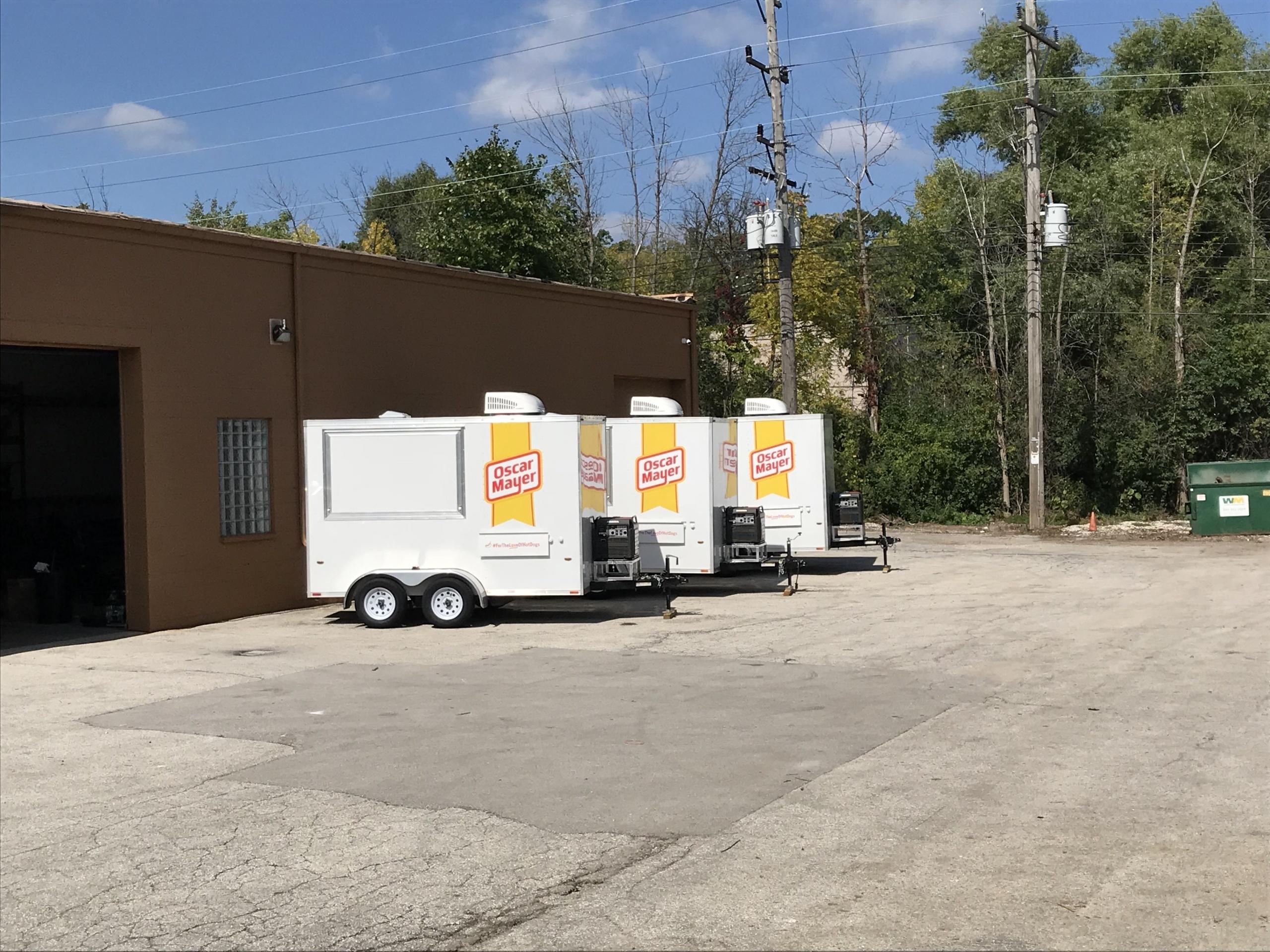 concession trailer fleet for sale