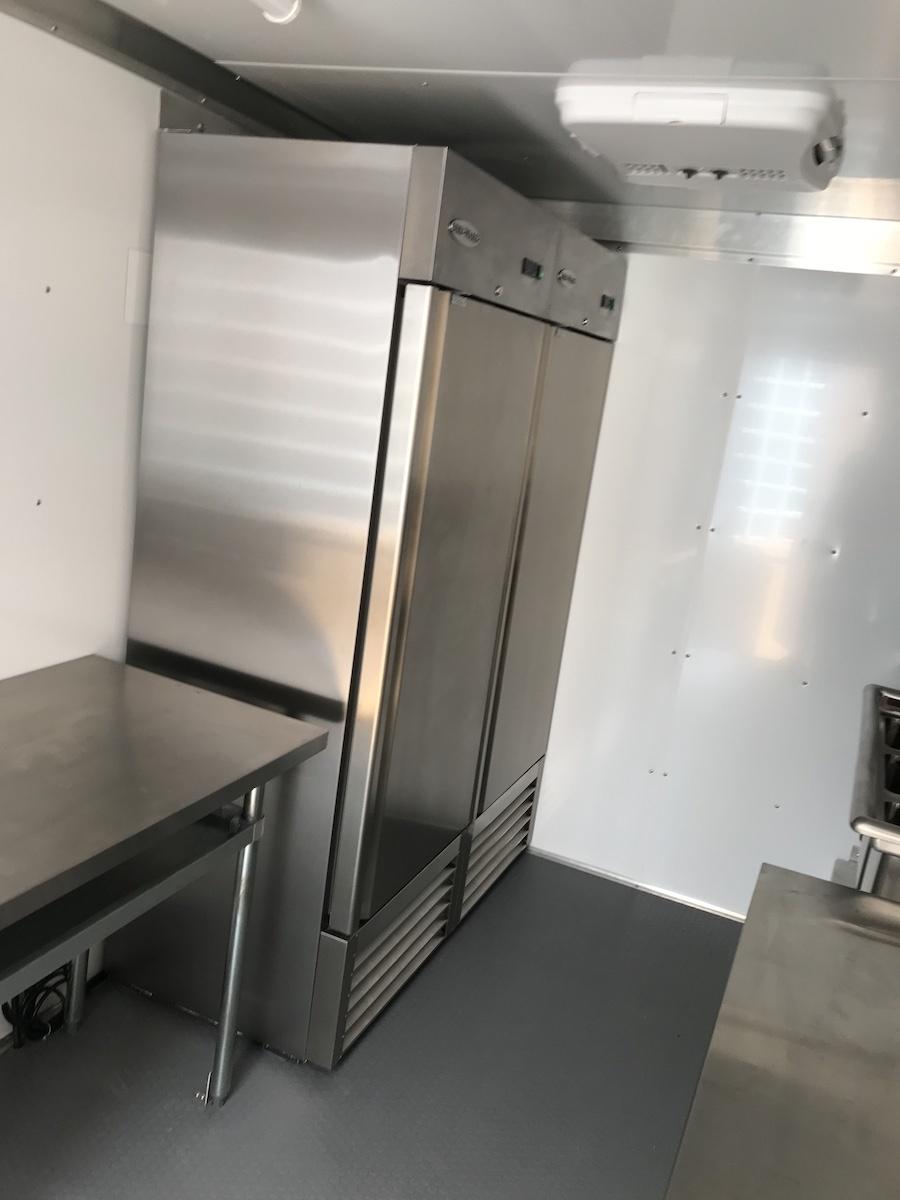 concession trailer refrigerator