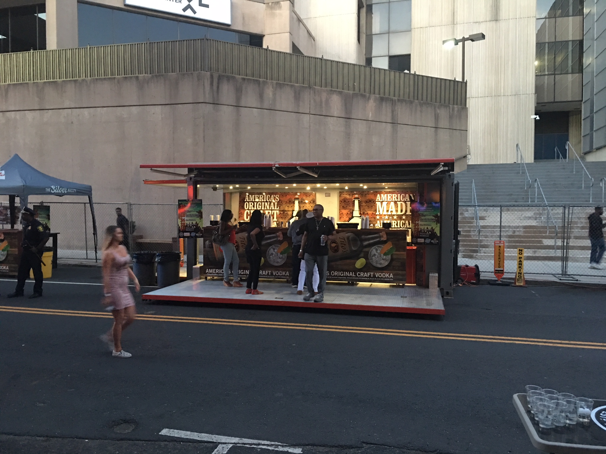 street event container
