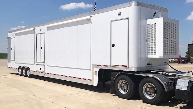 triple expandable featherlite trailer for sale