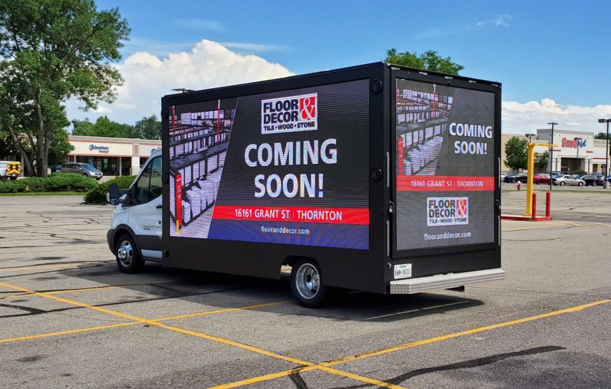 LED Digital Truck for rent