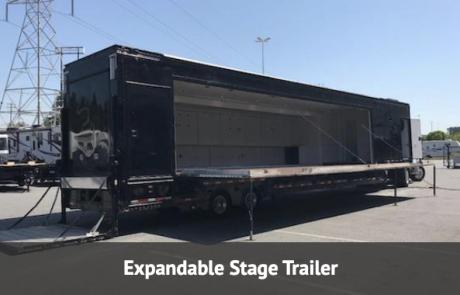 single expandable mobile distribution trailer