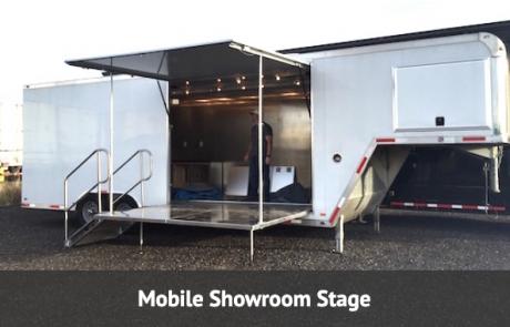 small Mobile Distribution trailer