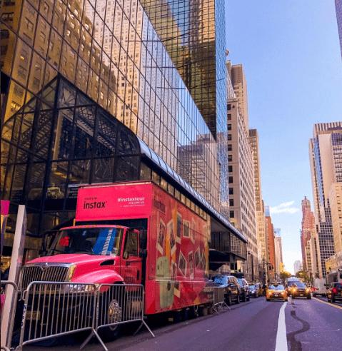 24 foot glass truck New York City