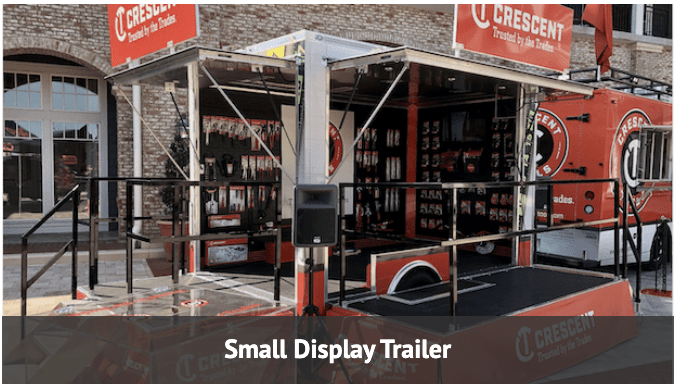 small display trailer