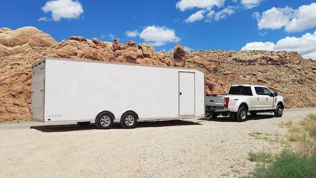 24 chase trailer passenger side door