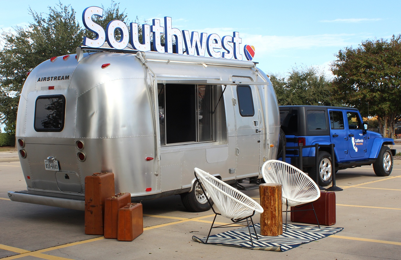 Airstream Bambi Marketing Trailer for lease