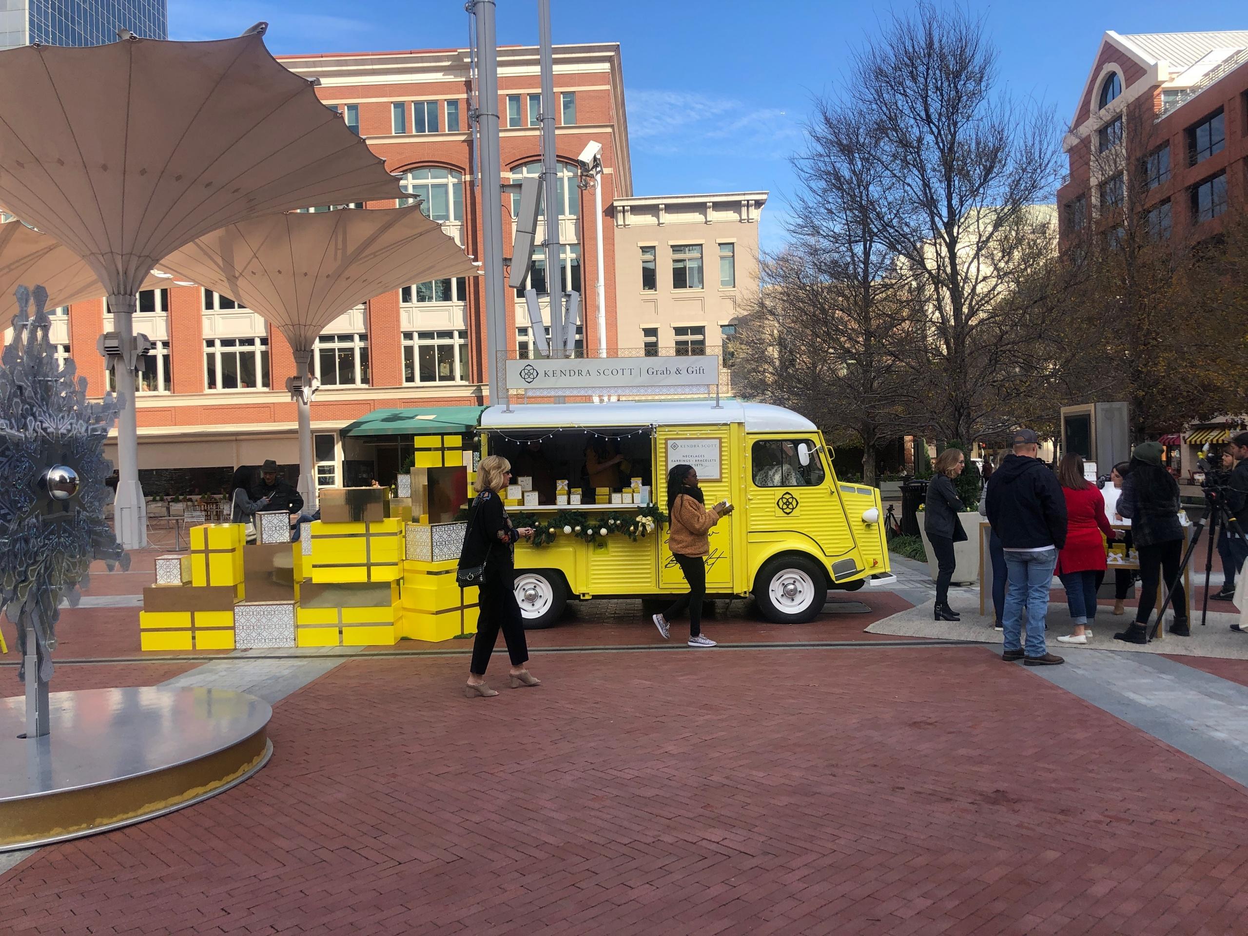 vintage citroen delivery truck event
