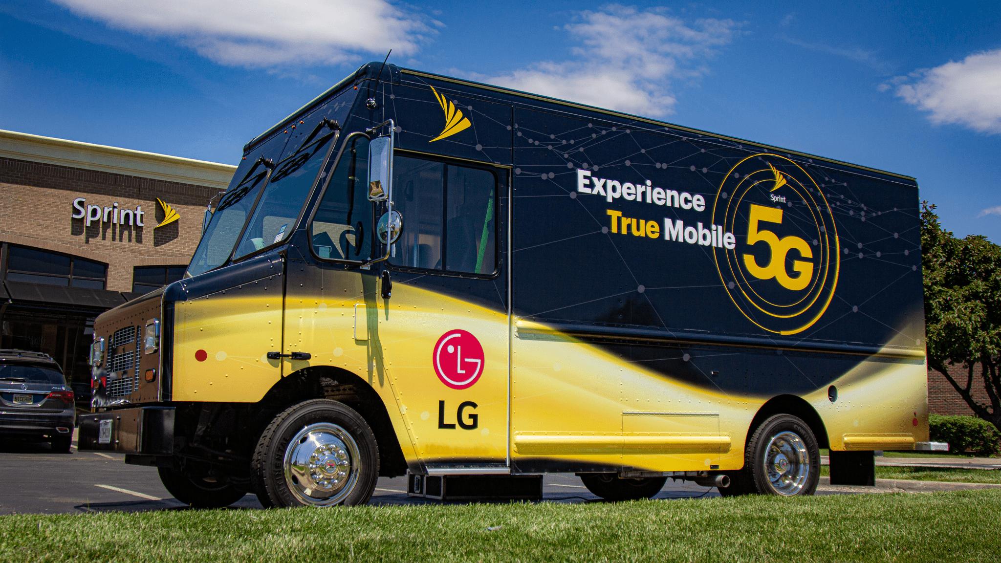 5g vending truck