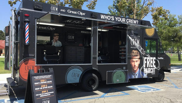 mobile barbershop truck for sale