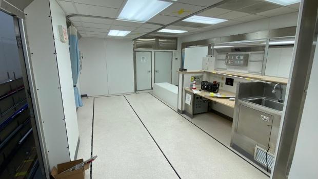 Medical surgery unit trailer for sale