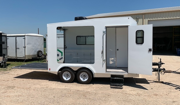 Advertising trailer for lease sm