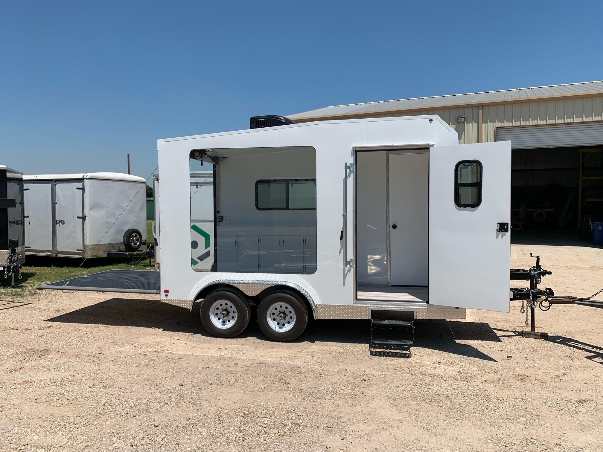 Advertising trailer for lease