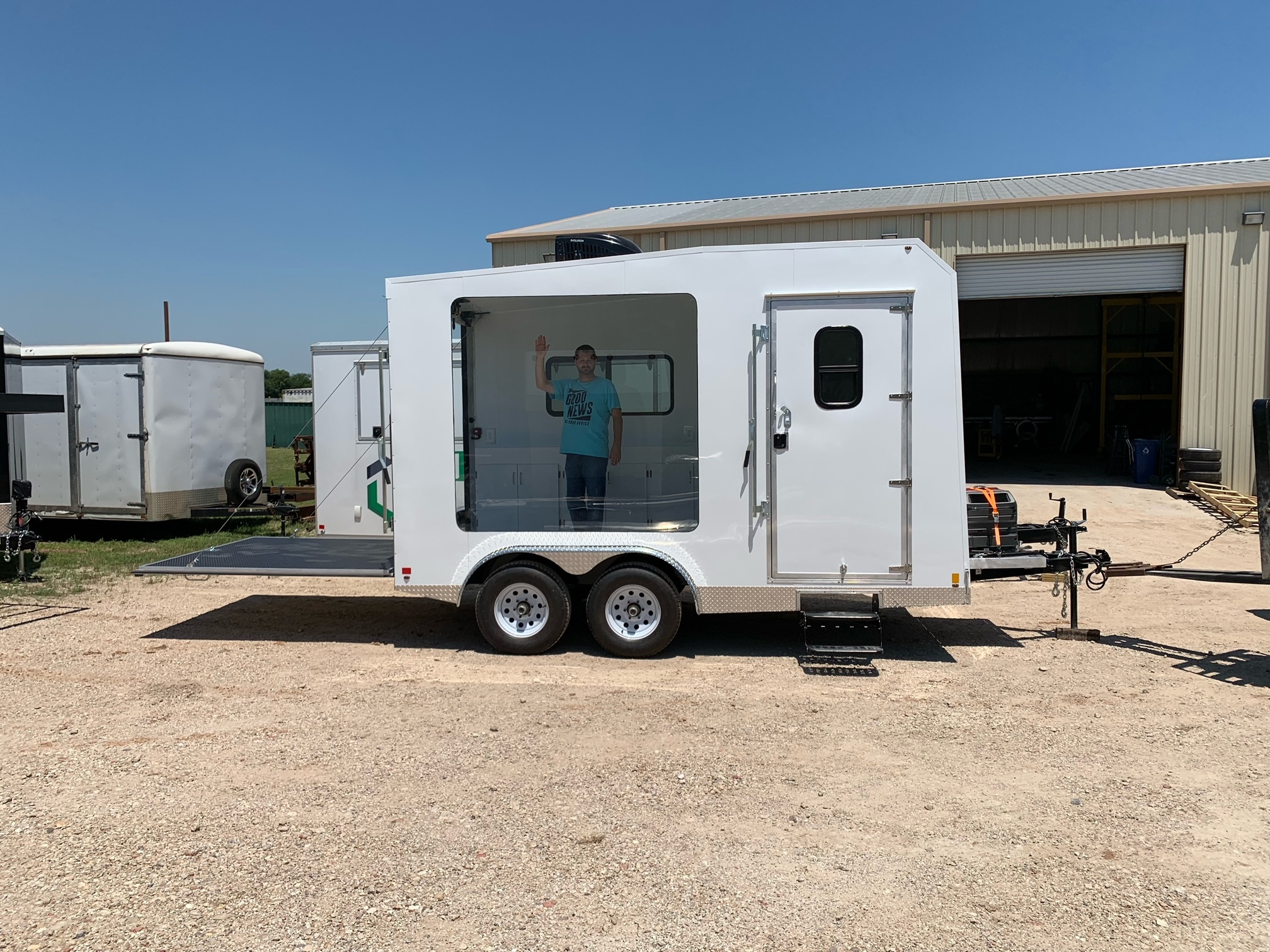 sales and Advertising trailer